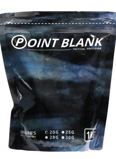 Airsoft BBs 0.20g Point Blank 1Kg