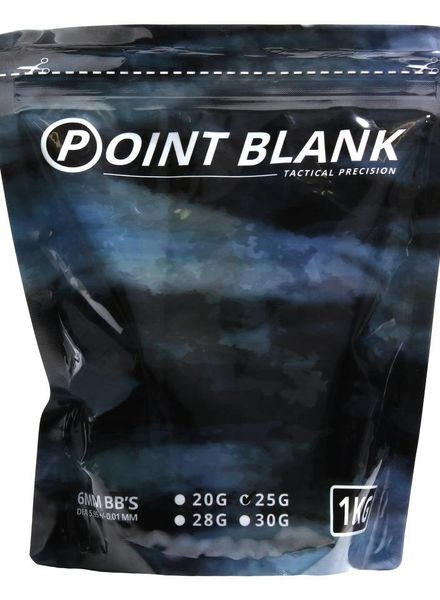 Airsoft BBs 0.25g Point Blank 1Kg