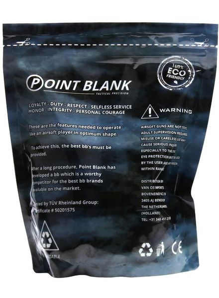 Airsoft BBs 0.30g Point Blank 1Kg