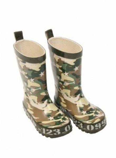Camouflage Rubber Kinderlaarsjes