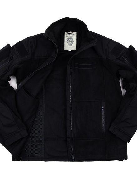 Combat fleece vest zwart