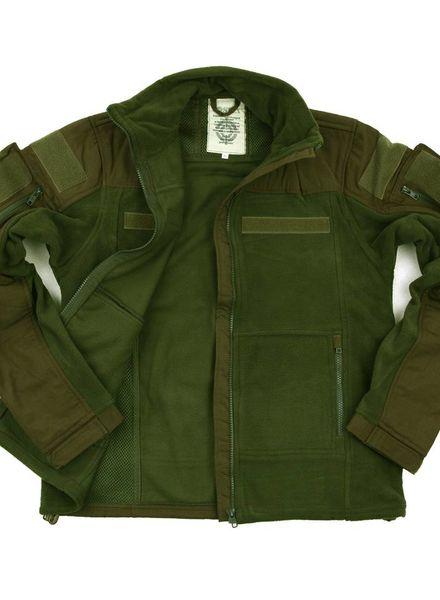 Combat fleece vest groen