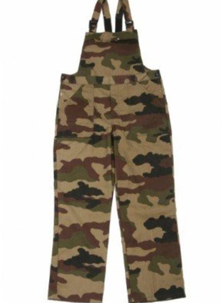 Tuinoveralls / Amerikaanse overalls Camouflage