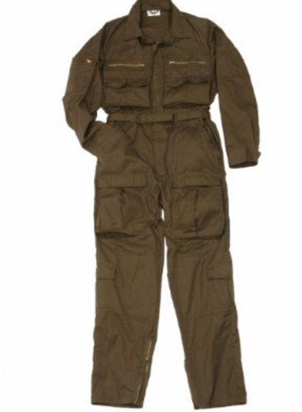 Franse Vliegers Overalls Olive
