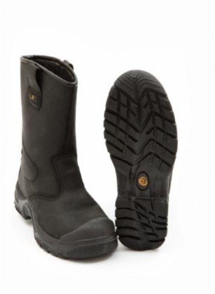 Km Veiligheidslaarzen S3 Zwart Ongevoerd