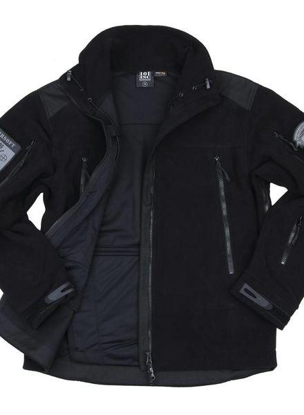 Heavy duty fleece vest Zwart
