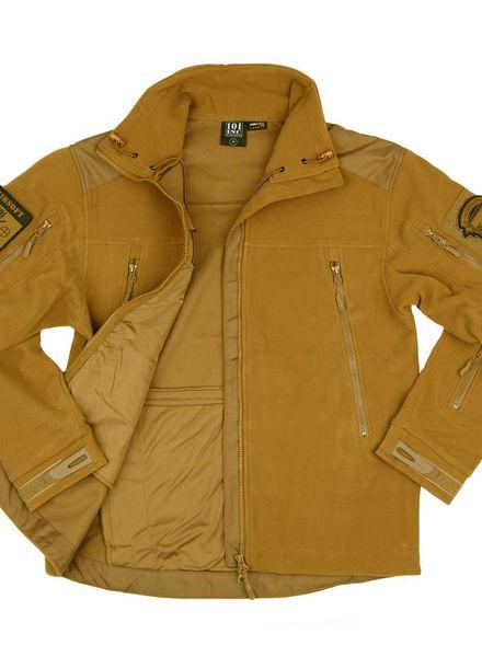 Heavy duty fleece vest Coyote