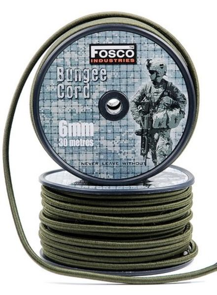 Bungee cord 6 mm 30 mtr