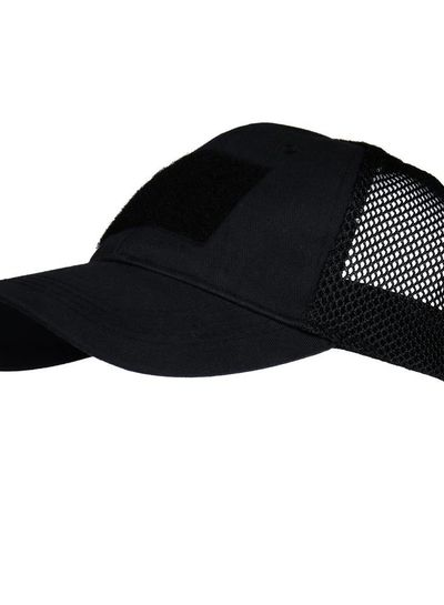 Baseball cap Mesh tactical Zwart
