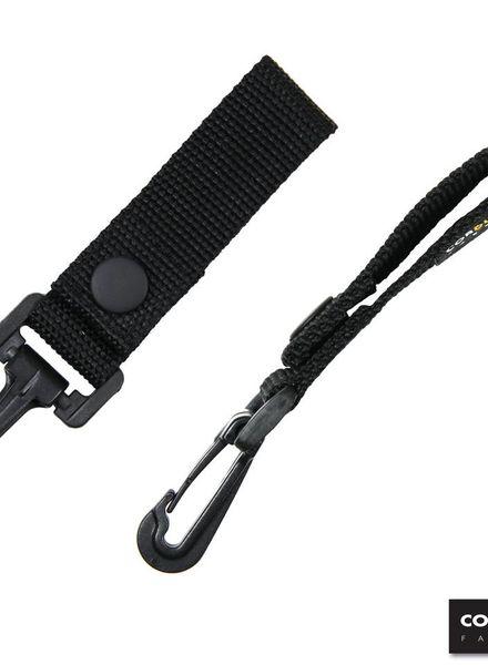 Keychain with concrete hook Cordura DP208