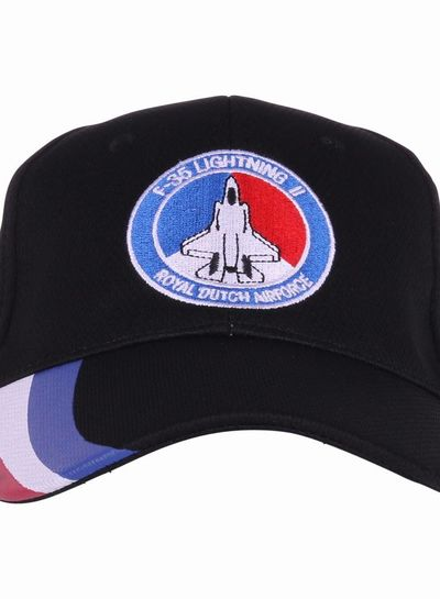 Baseball cap F-35 Lightning II NL zwart