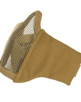 Airsoft face mask nylon/mesh Coyote