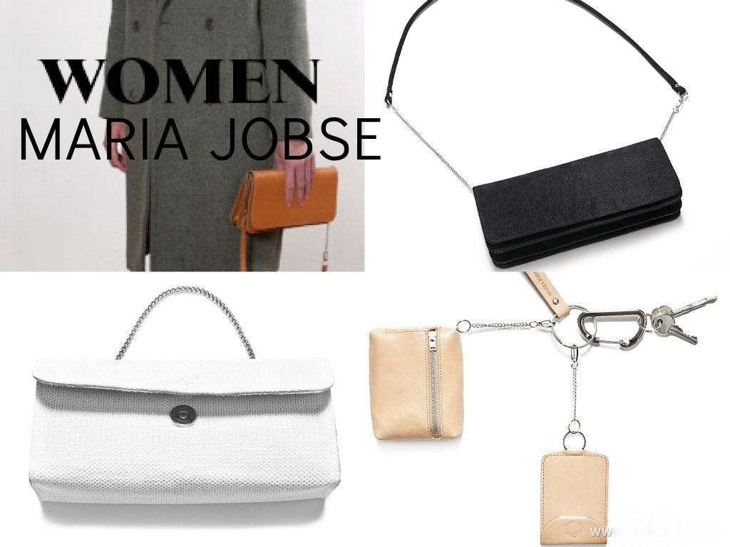 Maria Jobse Keychain Big with Box Bag