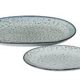 Broste Plate Oval - Nordic Sea