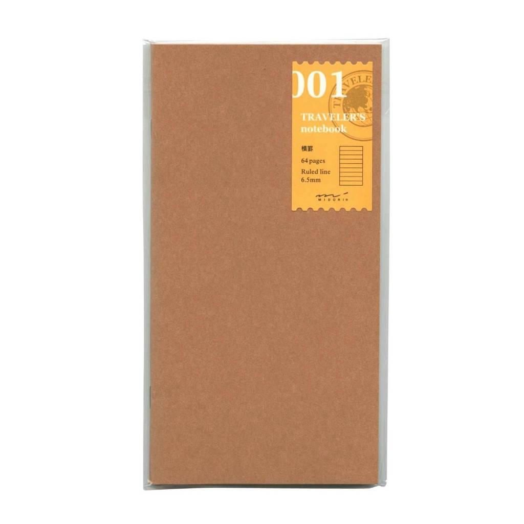 Midori Gelinieerd Papier Vulling 001