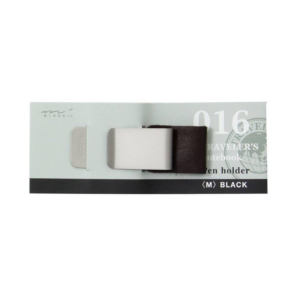 Midori Penhouder (M) 016 - Zwart/Bruin