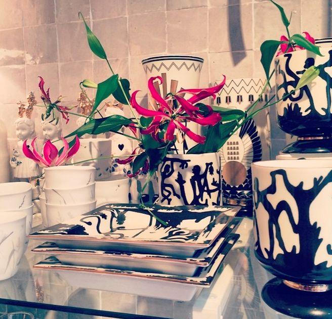 Vase Chinese Shades - Monkeys