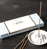 Astier de Villatte Incense Holder - Emilie Pearls
