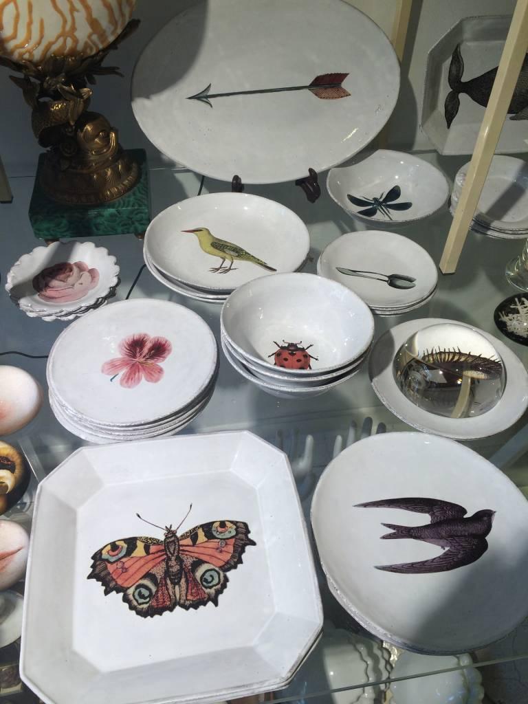 Astier de Villatte John Derian Small Plate - Swallow