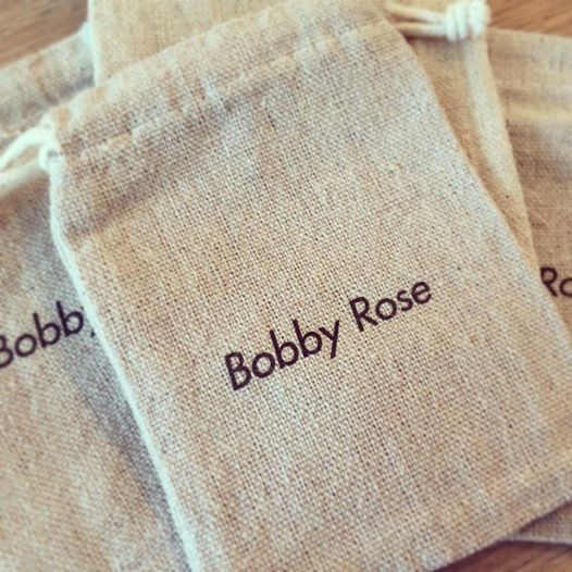 Bobby Rose Ketting - Onyx Steentje