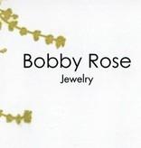 Bobby Rose Necklace - Leaf Charm Large