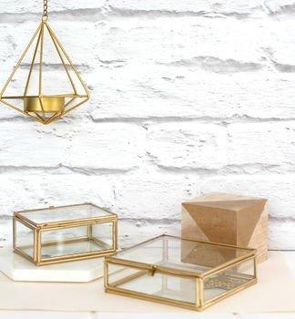 Madam Stolz Glass Box - Square
