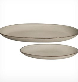 Broste Plate Oval - Nordic Sand