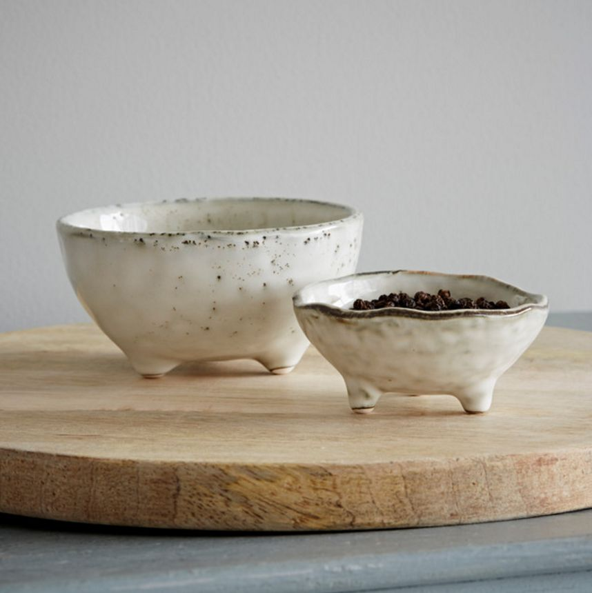 Broste Small Bowls - Nordic Sand / Set of 2