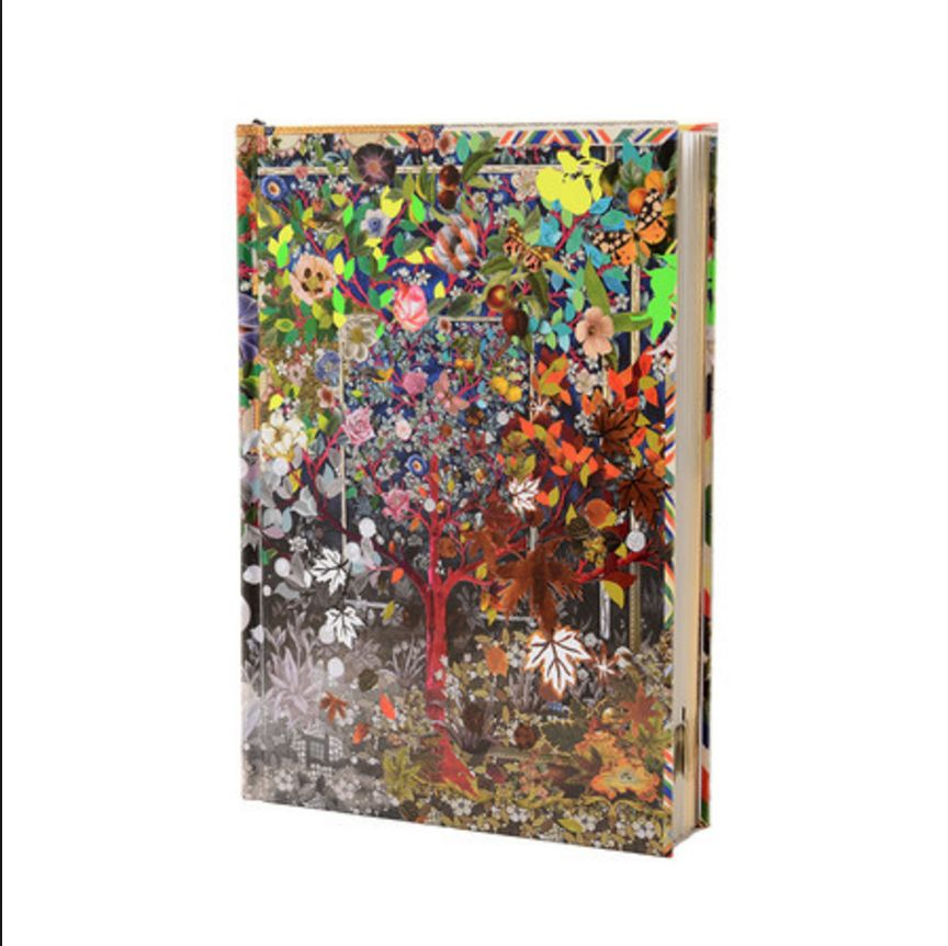 Christian Lacroix Notitieboek / Harde Kaft - Four Season - B5
