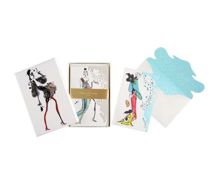 Christian Lacroix Note Cards - Haute Couture