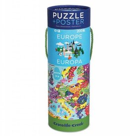 Crocodile Creek Puzzle Europe