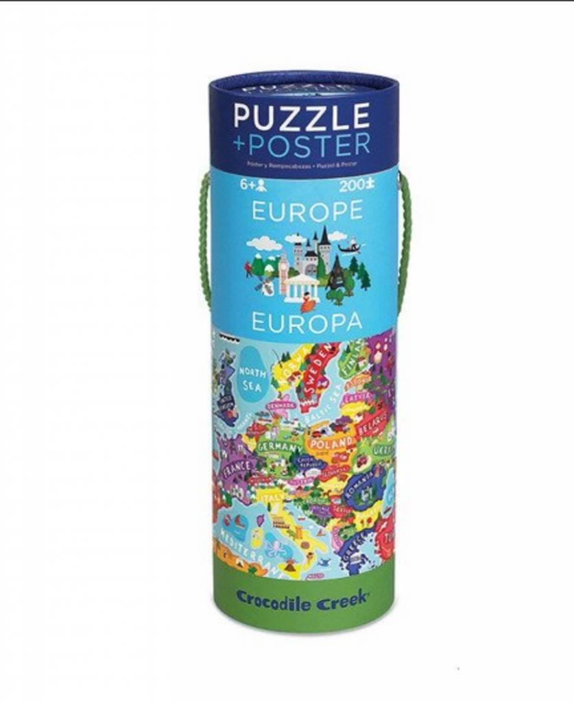 Crocodile Creek Puzzel - Europa