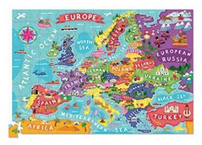 Crocodile Creek Puzzle Europe
