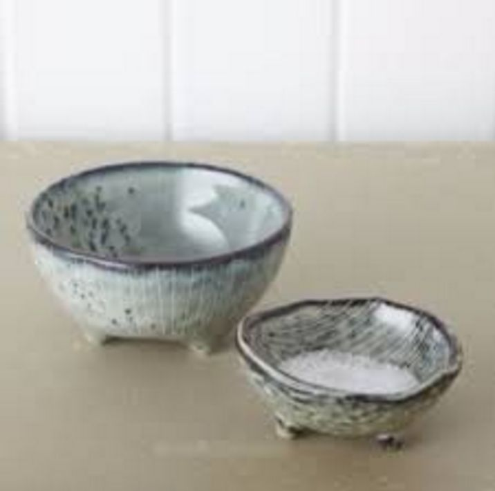 Broste Small Bowls - Nordic Sea / Set of 2