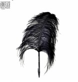 Maison Margiela Feather Pen Ostrich Black