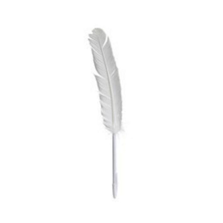 Maison Margiela Feather Pen Goose - White