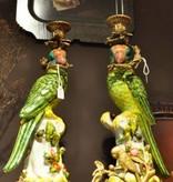 Kandelaar - Papegaai Groen