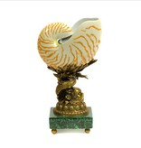 Shell on Bronze Dolphin