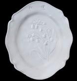 Astier de Villatte John Derian Side Plate Fleurs