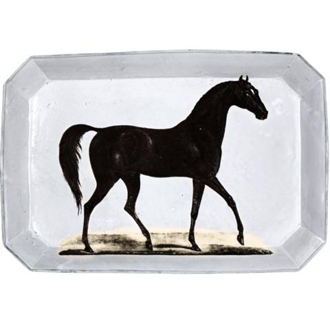 Astier de Villatte John Derian Rechthoekige Schaal - Paard