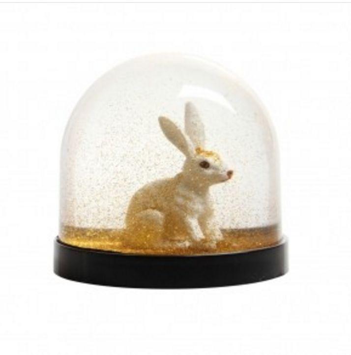 &K Snow Globe - Rabbit