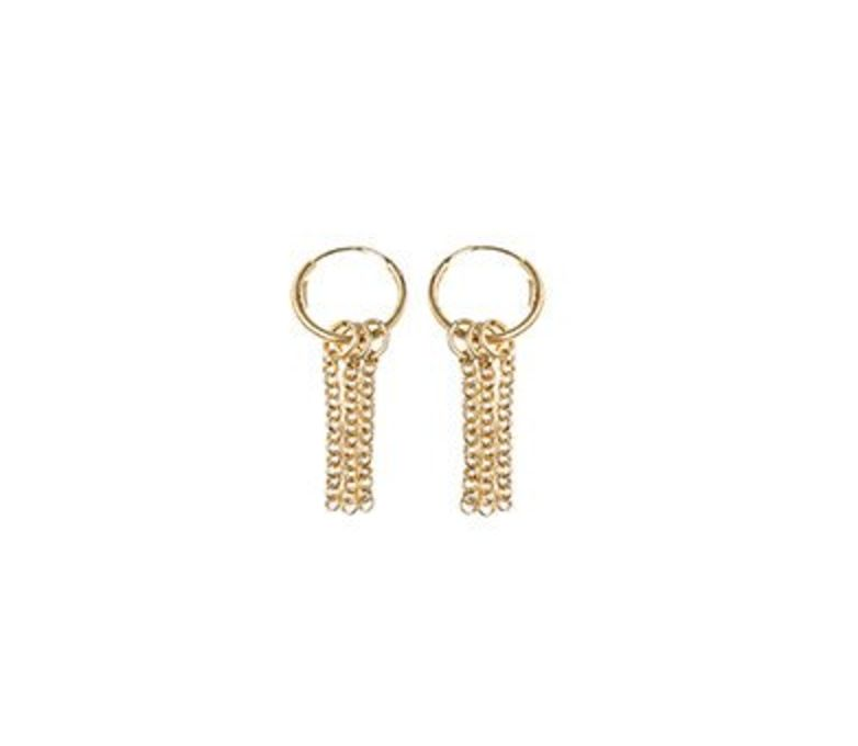 Bobby Rose Earring - Classic Chain