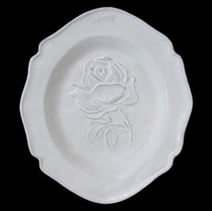 Astier de Villatte John Derian Deep Plate - Fleurs