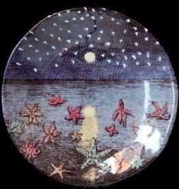 Astier de Villatte John Derian Plate - Star Fish & Stary Night