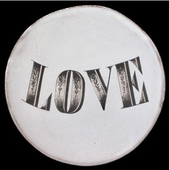 Astier de Villatte John Derian Saucer - Love
