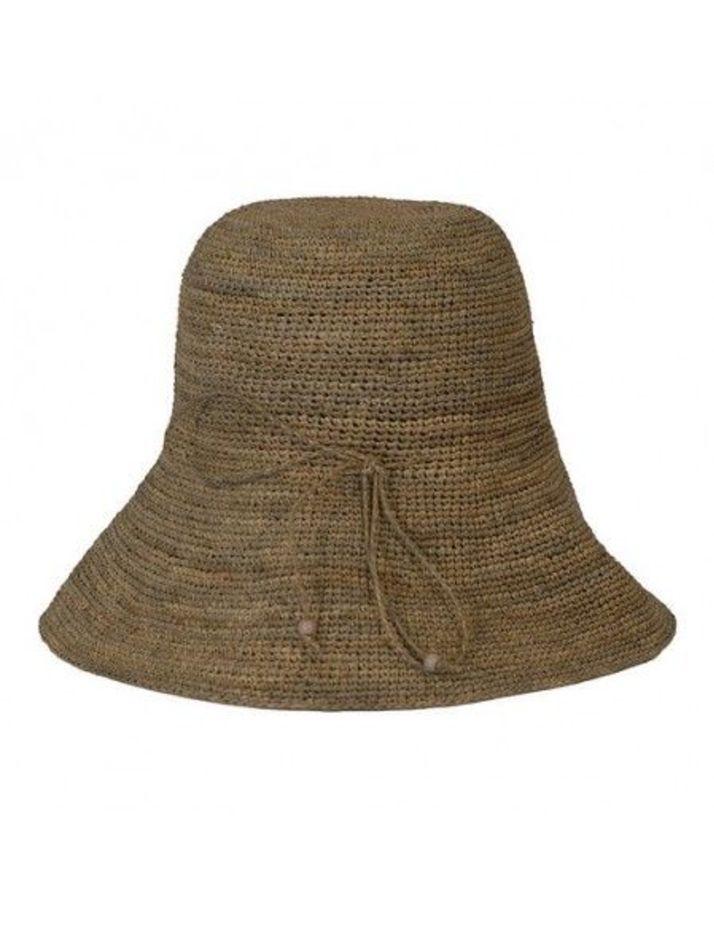 Made in Mada Raffia Hat Cyril - Tea