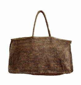 Made in Mada Raffia Bag Alicia XL - Tea