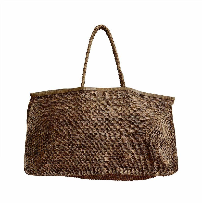 Made in Mada Raffia Bag Alice XL - Tea