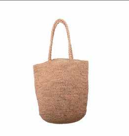 Made in Mada Raffia Bag Alice MM - Natural