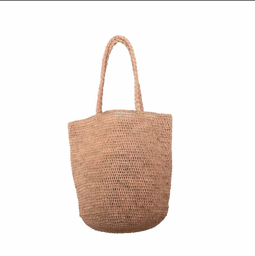 Made in Mada Raffia Bag Alice MM - Naturel